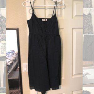 Esprit size 6 black cotton sundress